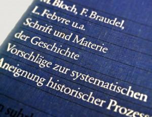 Schrift und Materie der Geschichte.