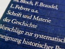 Schrift und Materie der Geschichte. Vorschläge zur systematischen Aneignung historischer Prozesse